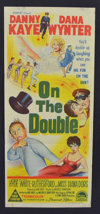 On The Double 1961 720p BluRay DTS x264-SiNNERS