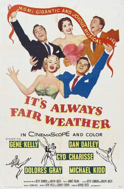 Its Always Fair Weather 1955 720p BluRay DTS x264-SADPANDA