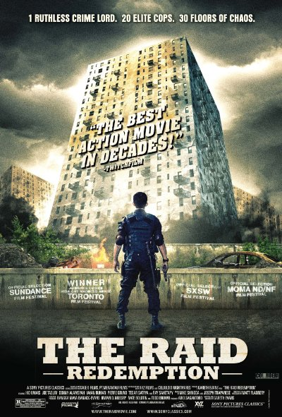 The Raid Redemption 2011 BluRay REMUX 1080p AVC DTS-HD MA 5.1-NOGROUP