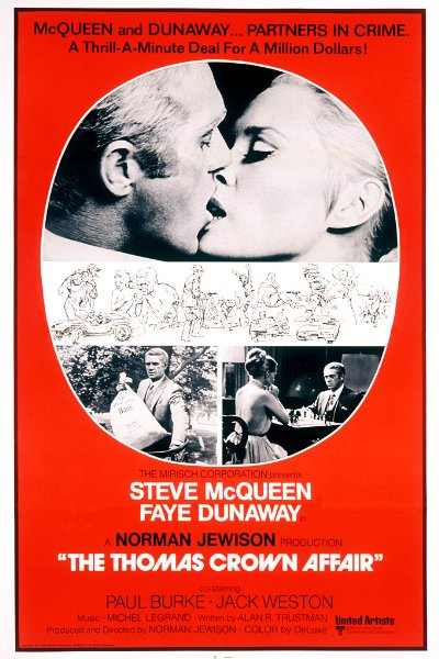 The Thomas Crown Affair 1968 REMASTERED 720p BluRay DTS x264-AMIABLE