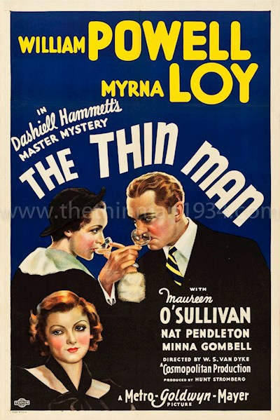 The Thin Man 1934 1080p BluRay DTS x264-SiNNERS