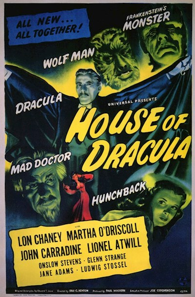 House of Dracula 1945 BluRay REMUX 1080p AVC DTS-HD MA 2.0-LAZY