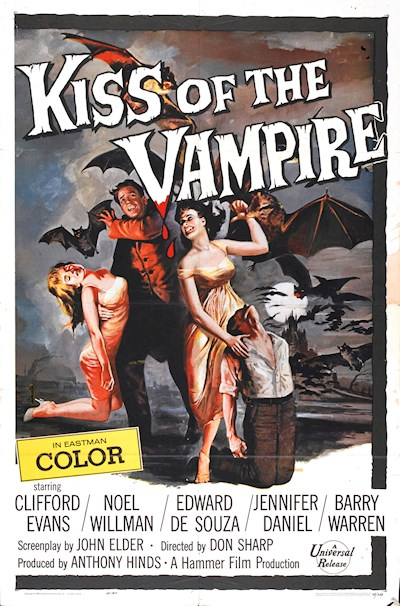The Kiss of the Vampire 1963 BluRay REMUX 1080p AVC FLAC2.0-SiCaRio