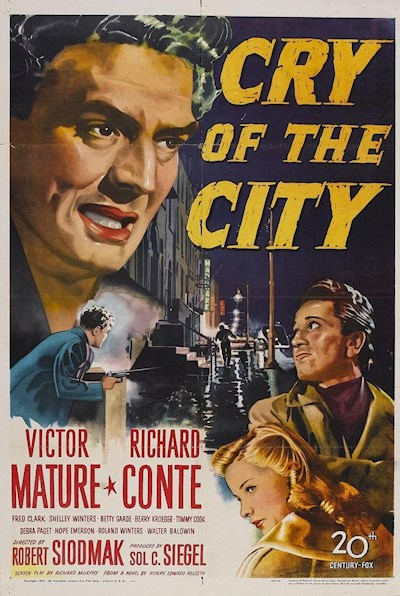 Cry of the City 1948 720p BluRay FLAC x264-USURY