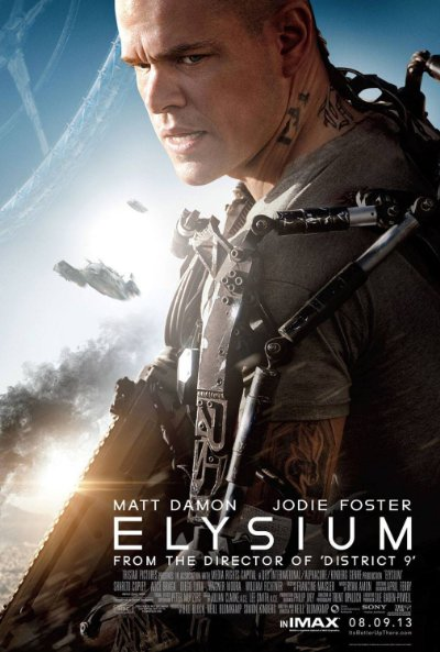 Elysium 2013 BluRay 1080p DTS-HD MA 7.1 x264-CHD