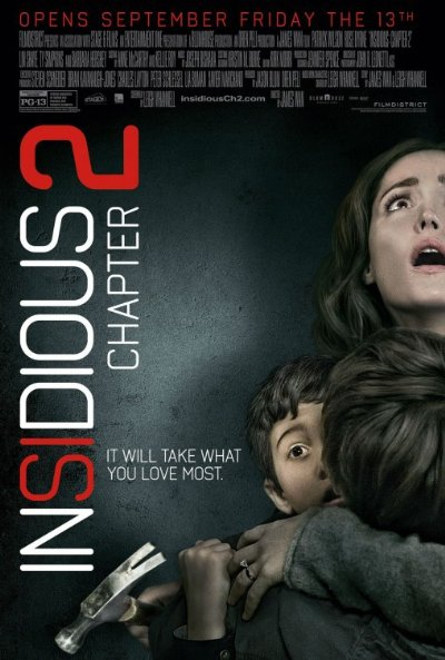 Insidious Chapter 2 2013 720p BluRay DTS x264-SPARKS