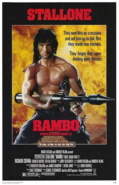 Rambo First Blood Part II 1985 2160p UHD BluRay REMUX HDR HEVC DTS-HD MA 5.1 - KRaLiMaRKo