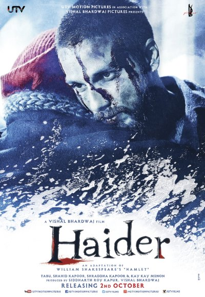 Haider 2014 Hindi 1080p Bluray DTS x264-D3Si MaNiaCs