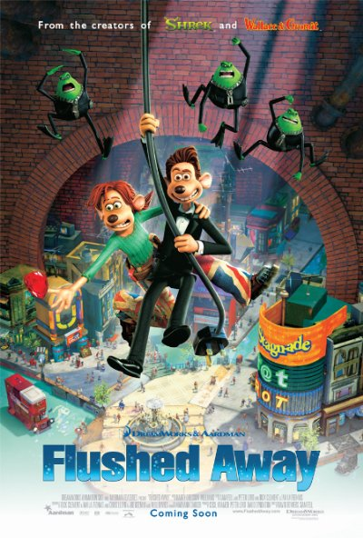 Flushed Away 2006 720p BluRay DTS x264-AMIABLE