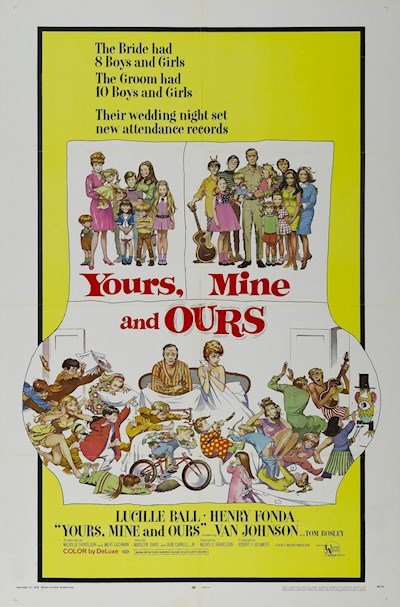 Yours Mine and Ours 1968 BluRay REMUX 1080p AVC FLAC2.0-EPSiLON