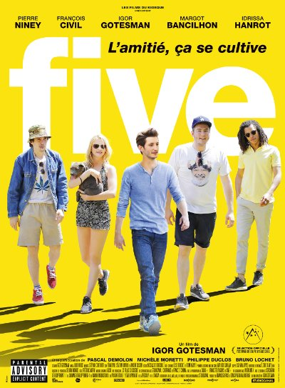 Five 2016 1080p BluRay DTS x264-RedBlade