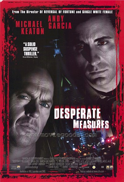 Desperate Measures 1998 720p HDTV DTS x264 Shadoe