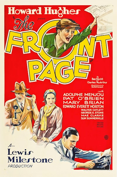 The Front Page 1931 720p BluRay DD1.0 x264-CiNEFiLE