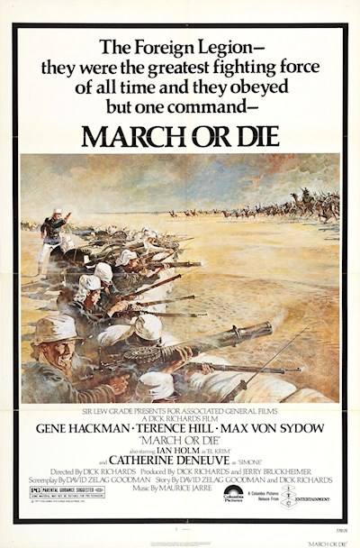 March Or Die 1977 1080p BluRay DTS x264-GUACAMOLE