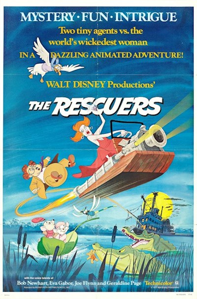 The Rescuers 1977 1080p BluRay DTS x264-UNK