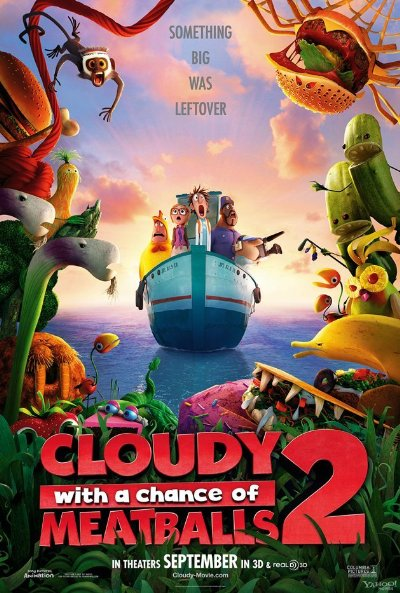 Cloudy with a Chance of Meatballs 2 2013 3D 1080p BluRay Half-SBS DTS-HD MA 5.1 x264-PublicHD