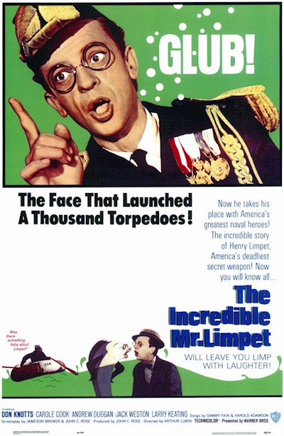 The Incredible Mr Limpet 1964 Repack BluRay REMUX 1080p AVC DTS-HD MA 1.0 - KRaLiMaRKo