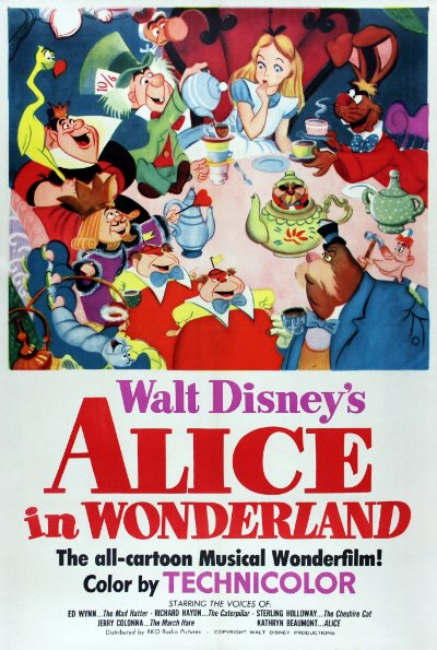 Alice in Wonderland 1951 USA 60th Anniversary Edition BluRay REMUX 1080p AVC DTS-HD MA - BluDragon