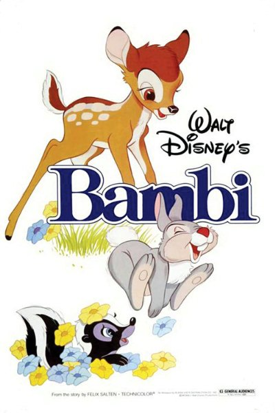 Bambi 1942 USA Diamond Edition BluRay REMUX 1080p AVC DTS-HD MA - BluDragon