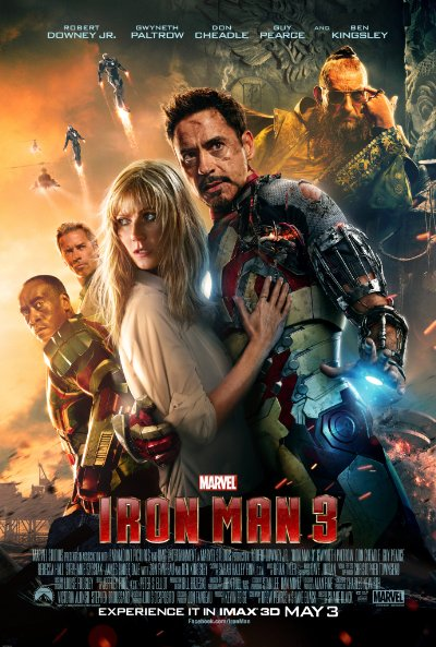 Iron Man 3 2013 1080p UHD BluRay DD 7 1 HDR x265-SA89