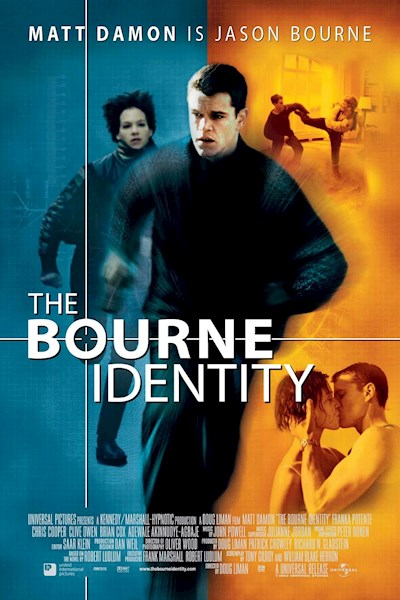 The Bourne Identity 2002 4K UHD HDR BluRay x265 DTS 2160p -HDRINVASION